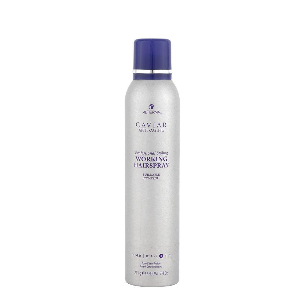 Alterna Caviar Anti aging Styling Working hairspray 211gr - lacca tenuta media