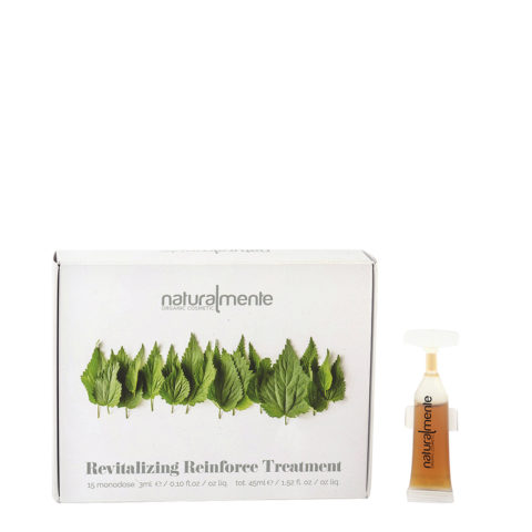 Naturalmente Revitalizing Reinforce Treatment 15x3ml - fiale rinforzanti capelli deboli