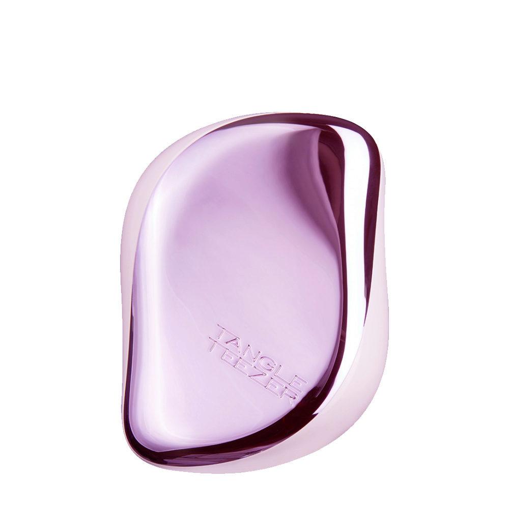 Tangle Teezer Compact Styler Lilac Gleam - spazzola compatta lilla metallizzata