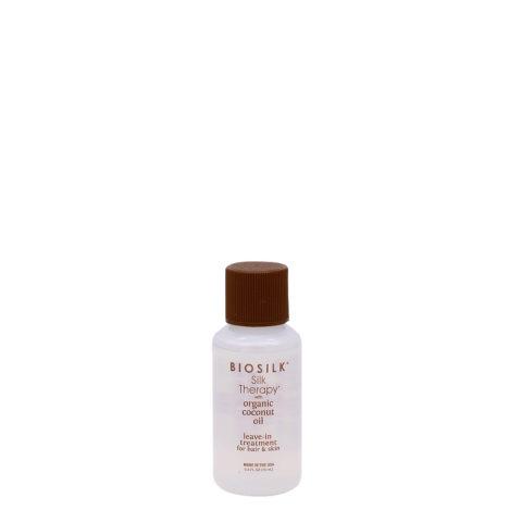 Biosilk Silk Therapy Coconut Oil Siero senza risciacquo per pelle e capelli 15ml