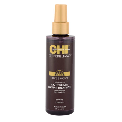 CHI Deep Brilliance Shine Serum Light Weight Leave In Treatment 177ml - siero lucidante idratante
