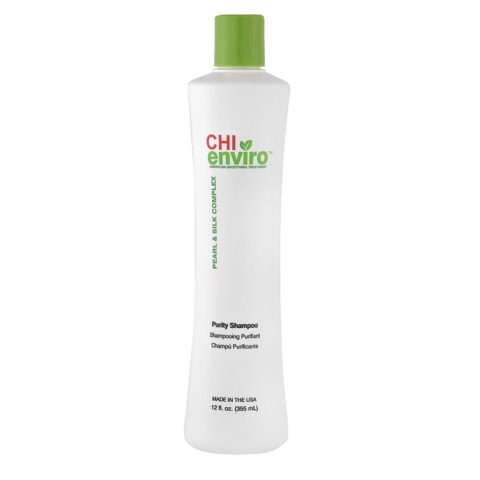 CHI Enviro Smooth Treat Purity Shampoo 355ml - shampoo purificante anticrespo