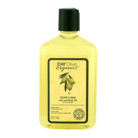 CHI Olive Organics Olive & Silk Hair And Body Oil 251ml - olio corpo e capelli