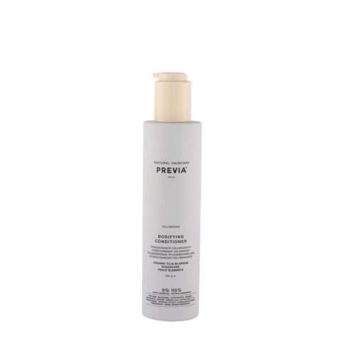 Previa Volumizing Organic Tilia Blossom Bodifying Conditioner 200ml - balsamo volumizzante