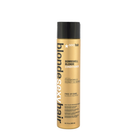 Blonde Sexy Hair Sulfate-Free Bombshell Blonde Conditioner 300ml - balsamo senza solfati capelli biondi