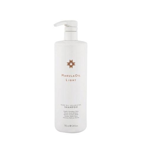 Paul Mitchell Marula Oil Light Volumizing Shampoo 710ml - Shampoo Volumizzante Per Capelli Fini E Medi