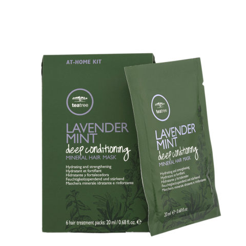 Paul Mitchell Tea Tree Lavender Mint Deep Conditioning Mineral Hair Mask 6x20ml
