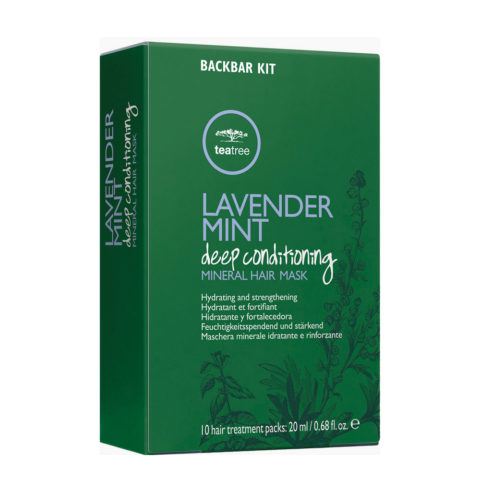 Paul Mitchell Tea Tree Lavender Mint Deep Conditioning Mineral Hair Mask 10x20ml