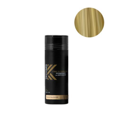 Tricomix Fibre Blond 27gr - Fibre Di Cheratina Volumizzanti Per Capelli Con Principi Anticaduta Biondo
