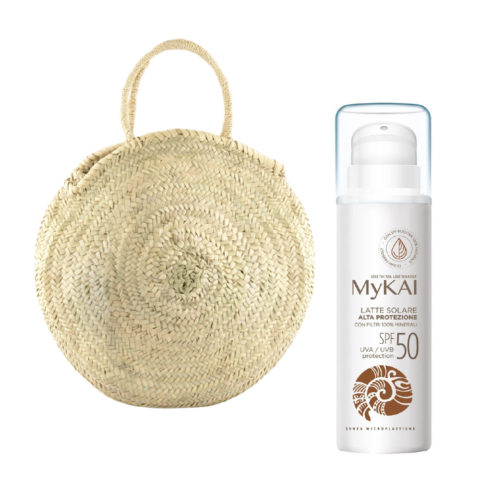 Mykai Latte Solare Alta Protezione SPF50, 150ml borsa in omaggio