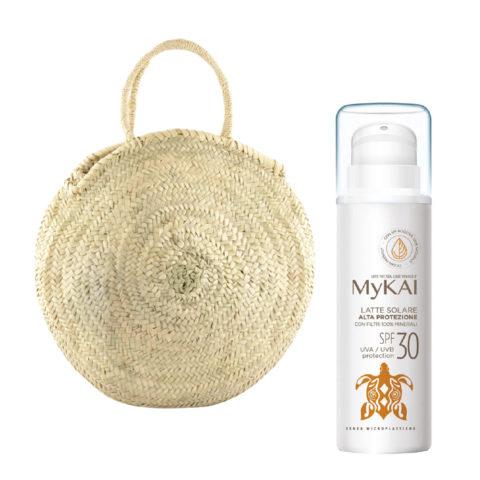 Mykai Latte Solare Alta Protezione SPF30, 150ml borsa in omaggio