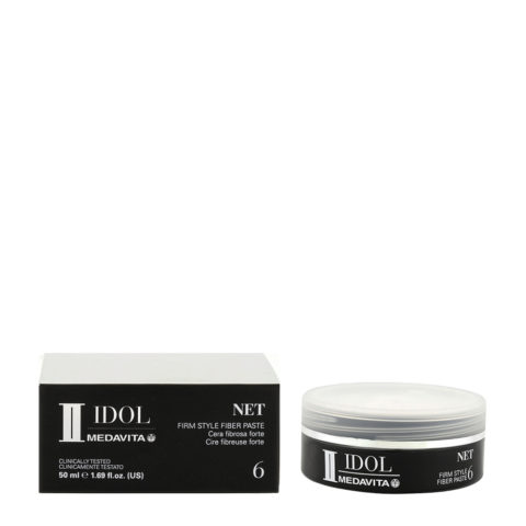 Medavita Idol Styling Man Net Firm Style Fiber Paste 50ml - cera fibrosa tenuta forte