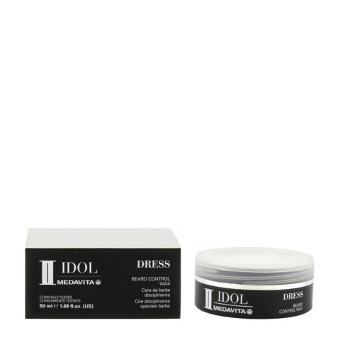 Medavita Idol Styling Man Dress Beard Control Wax 50ml - cera per la barba