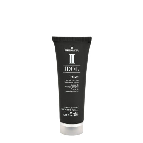 Medavita Idol Styling Man Foam Moisturizing Shaving Cream 50ml - crema da rasatura idratante
