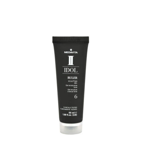 Medavita Idol Styling Man Ruler Sculpting Gel 50ml - gel tenuta forte