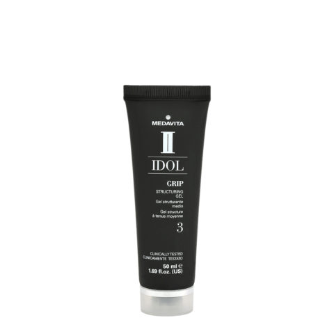 Medavita Idol Styling Man Grip Structuring Gel 50ml - gel tenuta media