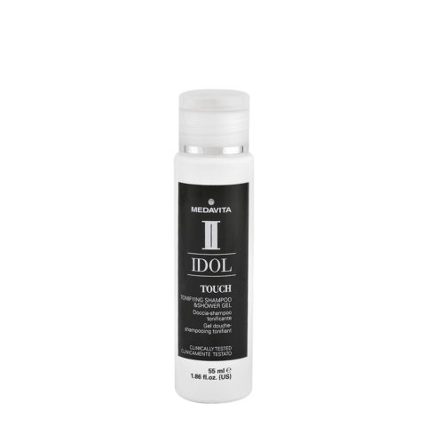 Medavita Idol Styling Man Touch Tonifying Shampoo Shower Gel 55ml - shampoo doccia tonificante