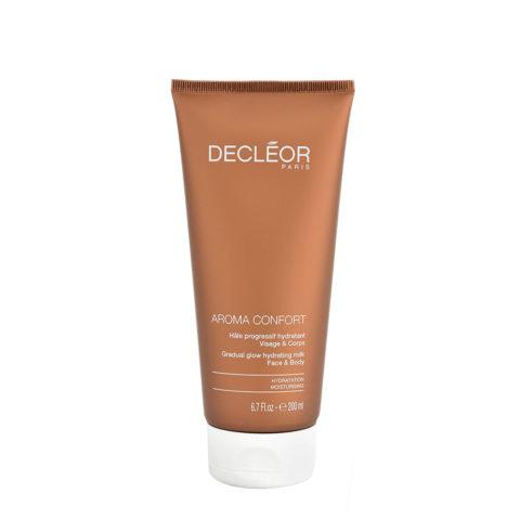 Decléor Aroma Confort Hâle Progressif Hydratant 200ml - latte corpo abbronzante progressivo