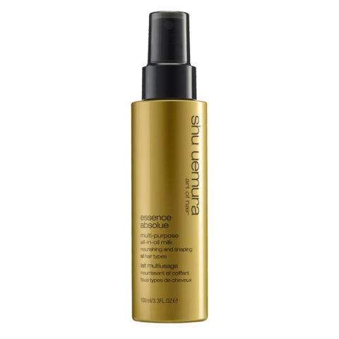 Shu Uemura Essence Absolue Multi-Purpose All-In-Oil Milk 100ml - Latte multiuso per capelli