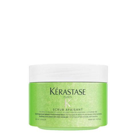 Kerastase Fusio Scrub Apaisant 250ml - scrub lavante e lenitivo per tutti i tipi di capelli e cute