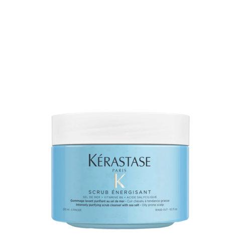 Kerastase Fusio Scrub Energisant 250ml - scrub purificante per cute grassa