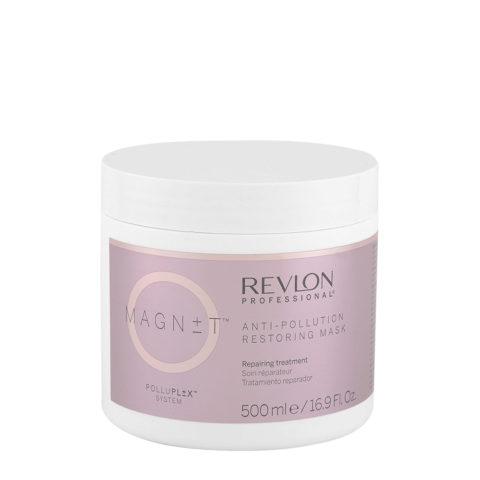 Revlon Magnet Anti Pollution Restoring Mask 500ml - Maschera Ristrutturante E Protettiva