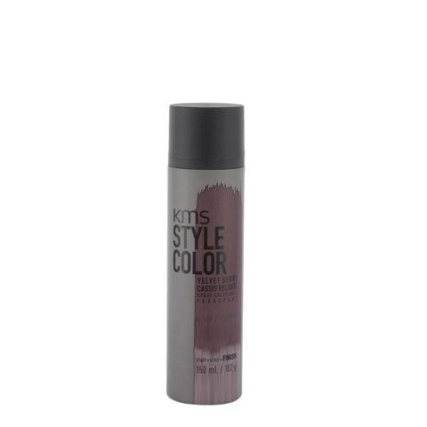 KMS Style Color Velvet Berry 150ml - Colore Spray Rosso Viola Vellutato
