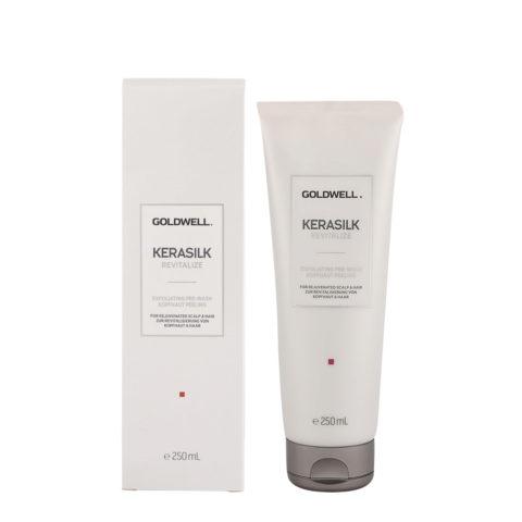 Goldwell Kerasilk Revitalize Exfoliating Pre-Wash 250ml - pre shampoo esfoliante