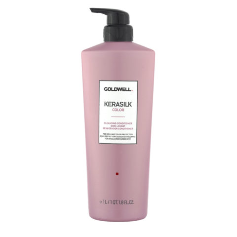 Goldwell Kerasilk Color Cleansing Conditioner 1000ml - Balsamo Detergente Capelli Colorati