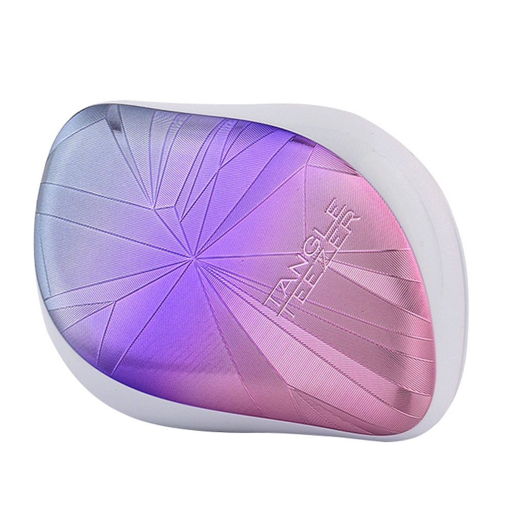 Tangle Teezer Compact Styler Smashed Holo Blue Xmas Collection - spazzola compatta