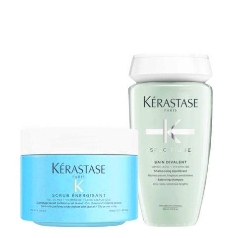 Kerastase Fusio Scrub Trattamento capelli grassi: Shampoo e Scrub