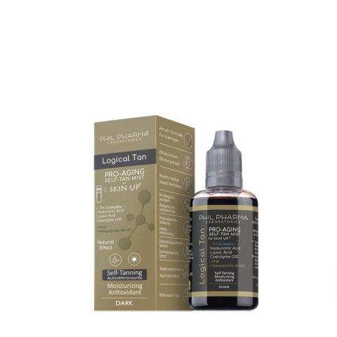 Phil Pharma Skin Up Classic Logical Tan Dark 50ml - Fluido Autoabbronzante Scuro Per Viso E Corpo Da Nebulizzare