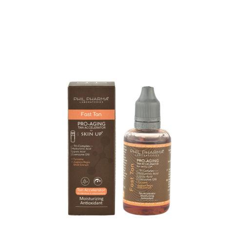Phil Pharma Skin Up Fast Tan Accelerator 50ml - Fluido Autoabbronzante Per Viso E Corpo Da Nebulizzare