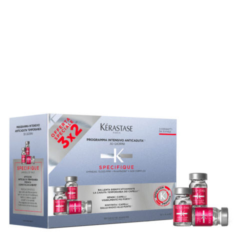 Kerastase Specifique Cure anti chute intensive 30x6ml - scatola da 30 fiale anticaduta