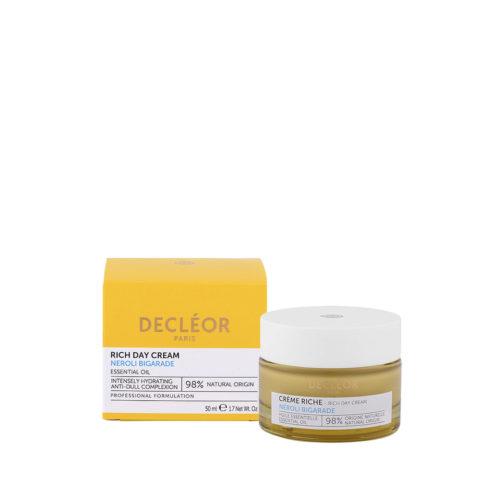 Decléor Crème Riche Nèroli Bigarade Day Cream 50ml - cema viso ricca idratazione intensa