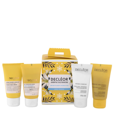 Decléor Essential Oils Skincare Infinite Body Hydration Neroli Bigarade - Kit 4 Prodotti Corpo