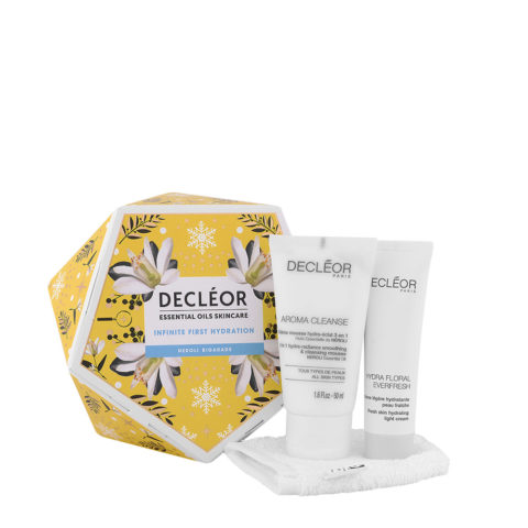 Decléor Essential Oils Skincare Infinite First Hydration Neroli Bigarade - kit 3 prodotti viso