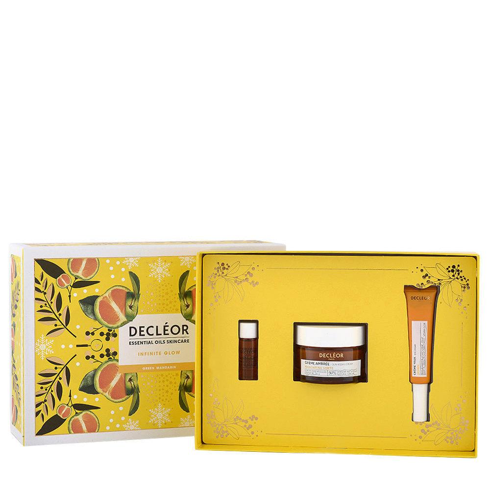 Decléor Essential Oils Skincare Infinite Glow Green Mandarin - Kit 3 Prodotti illuminanti viso