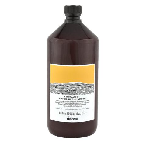 Davines Naturaltech Nourishing Shampoo 1000ml - Shampoo nutriente