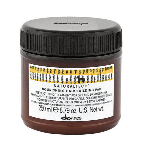 Davines Nourishing Hair Building Pak Hair Mask 250ml - Maschera ristrutturante