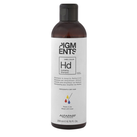 Alfaparf Pigments Hd Hydrating Shampoo 200ml - Shampoo Capelli Normali