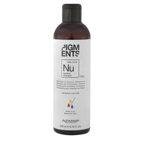 Alfaparf Pigments Nu Nutritive Shampoo 200ml - Shampoo Capelli Secchi