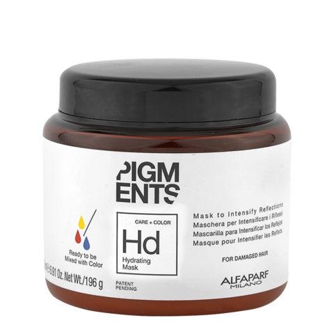 Alfaparf Pigments Hd Hydrating Mask 200ml - Maschera Capelli Normali