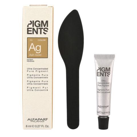 Alfaparf Pigmenti Ag .13 Ash Gold 8ml - Pigmento Cenere Dorato