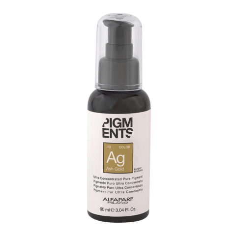 Alfaparf Pigmenti Puri Ag .13 Ash Gold 90ml - Pigmento Cenere Dorato