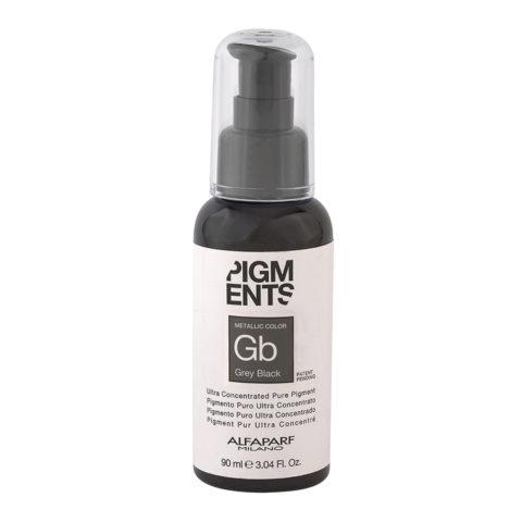 Alfaparf Pigmenti Puri Gb Grey Black 90ml - Pigmento Grigio