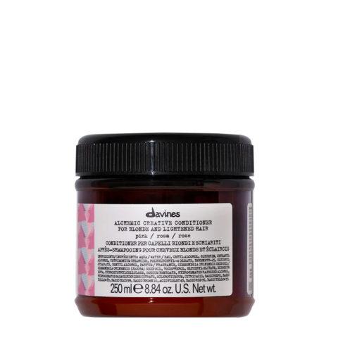 Davines Alchemic Creative Conditioner Pink 250ml - Balsamo Colorato Rosa