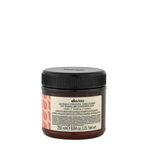 Davines Alchemic Creative Conditioner Coral 250ml - Balsamo Colorato Corallo
