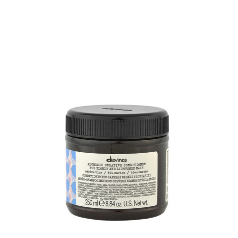Davines Alchemic Creative Conditioner Marine Blue 250ml - Balsamo Colorato Blu Marino