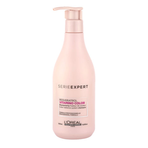 L'Oreal Vitamino color Resveratrol Vitamino Color Shampoo 500ml - shampoo per capelli colorati